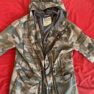 H&M Camouflage Trench coat